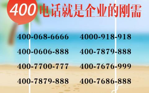 2019年7月11日:今日400电话推荐