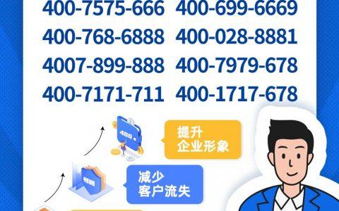 2019年11月7日:今日400电话推荐