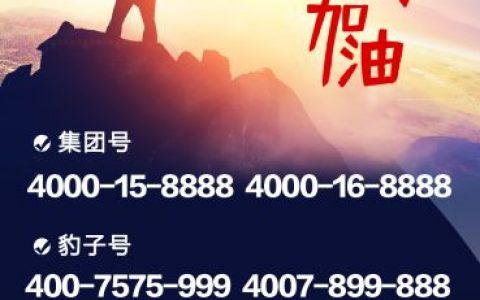 2020年2月10日:今日400电话推荐