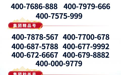 2020年3月16日:今日400电话推荐