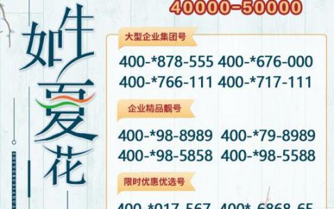2020年6月15日:今日400电话推荐