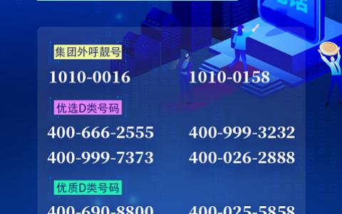 2020年7月2日:今日400电话推荐