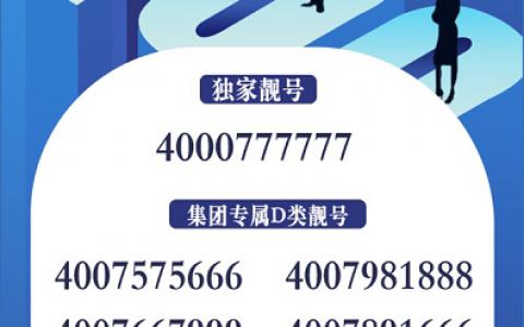 2020年8月24日:今日400电话推荐