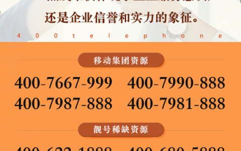 2020年10月12日:今日400电话推荐