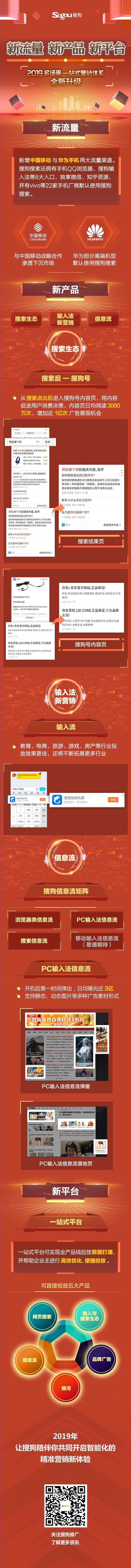"""搜狗""""多场景一站式""""营销体系"""